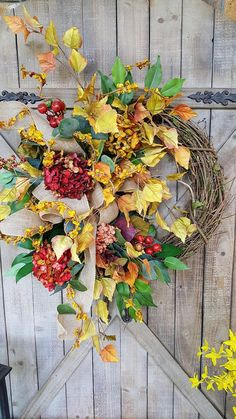 Check out this item in my Etsy shop https://www.etsy.com/listing/545319616/fall-wreath-fall-decor-fall-wreaths-for