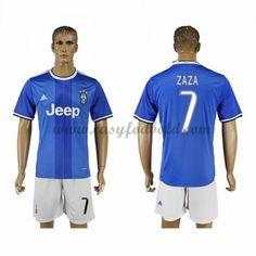 Fodboldtrøjer Series A Juventus 2016-17 Zaza 7 Udebanetrøje