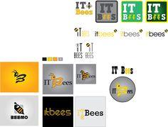 Logo options for a software house Software House, Identity Design, Bee, Logos, Logo, Legos