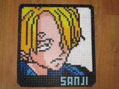 One Piece Sanji perler bead sprite by PlasticPixel on deviantART
