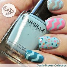 This week's #fanfriday stars an amazing look from @erikatheicyone using the entire Gentle Breeze Collection! Check out her blog too for an awesome tutorial on how to achieve this look at home! #nails #nailpolish #manicure #nailsofig #ignails #nailswatch #notd #tutorial #spring #color