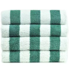 Luxury Hotel & Spa Towel Genuine Turkish Cotton Pool Beach Towels - Sea Green - Cabana - Set of 2 1st Avenue, Pool Towels, Great Vacations, Cotton Towels, Hotel Spa, Towel Set, Cabana, Beach Towel, Things To Come