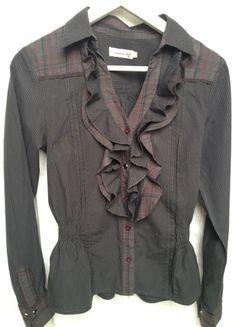 Kaufe meinen Artikel bei #Kleiderkreisel http://www.kleiderkreisel.de/damenmode/blusen/111572914-bluse-von-le-temps-des-perises-mit-volants