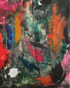 Bowie #abstractexpressionism #modernart #abstractart #art #painting