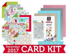 Milk & Cookies: December 2017 Card Kit Reveal and Inspiration
