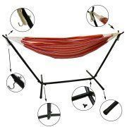 Free Shipping. Buy Best Choice Products Adjustable Universal Steel Hammock Stand- For All Hammock Types 9'-14' Long at Walmart.com
