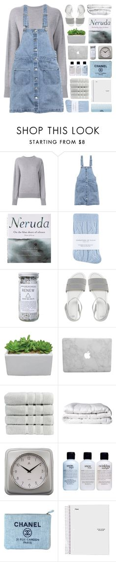 """POEMS OF THE SEA"" by emmas-fashion-diary ❤ liked on Polyvore featuring Isabel Marant, H&M, Patagonia, Johnstons, Herbivore, ASOS, Christy, Brinkhaus, Infinity Instruments and philosophy"