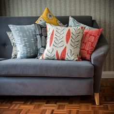 Get cosy with a selection of different MissPrint cushions available on their website