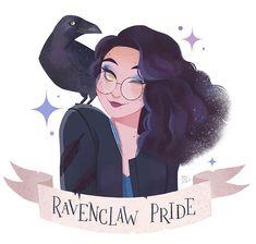 Pottermore said I'm a Ravenclaw 🐦 Harry Potter Drawings, Harry Potter Fan Art, Harry Potter Universal, Harry Potter Fandom, Harry Potter World, Harry Potter Memes, Harry Potter Hogwarts, Magia Harry Potter, Harry Potter Wallpaper