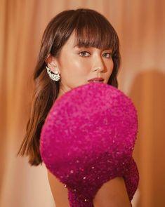 Kathryn Bernardo Outfits, Star Magic Ball, Daniel Padilla, Queen Of Hearts, Hair Inspiration, Fangirl, Stylists, Abs, Drop Earrings