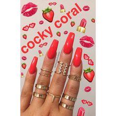 Nail Art Designs In Every Color And Style – Your Beautiful Nails Love Nails, Pink Nails, Pretty Nails, Nail Swag, Solar Nails, Nail Games, Nagel Gel, Cute Acrylic Nails, Holiday Nails