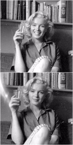 A casual Marilyn Monroe, photographed by Milton Greene in She looks a bit like Scarlett Johansson! Marilyn Monroe Artwork, Norma Jean Marilyn Monroe, Marilyn Monroe No Makeup, Marilyn Monroe Style, Mary Monroe, Milton Greene, Divas, Brigitte Bardot, Classic Hollywood