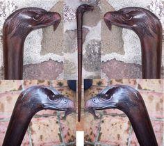 Sono Ebony Eagle Walking Stick, TLC Hawaii -- $59.95 + $15.95