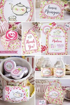TEA PARTY Ideas - Ad