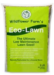 Covers 1,000 sq. ft.  Will thrive in both full sun or deep shade.  Requires minimal mowing - just once every 4 - 5 weeks, and a lot less water, if any.  Eco-Lawn™ reduces your maintenance time and costs . . . with Eco-Lawn™ you don't have to mow, water, fertilize or aerate . . . saving you time and money and helping to create a healthier environment. Fall is the best time to establish or over-seed an existing lawn area