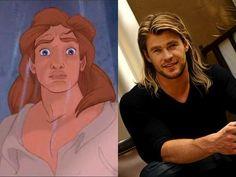 Chris Hemsworth as Prince Adam