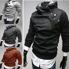 Neue Mode Männer Slim To...