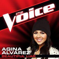 """Get Agina Alvarez's """"Beautiful Liar"""" audition on iTunes! #TeamAdam"""