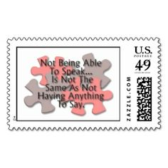 1000 Images About Autism Postage Stamps On Pinterest