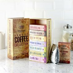 Whittard of Chelsea Finest Coffee Collection in whittards at Lakeland Couple Presents, Presents For Women, Couple Gifts, Gifts For Women, Whittard Of Chelsea, Brown Coffee, New Home Gifts, Chocolate Coffee, Valentine Gifts