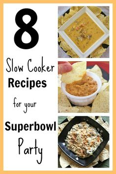 8 slow cooker recipes for your superbowl party