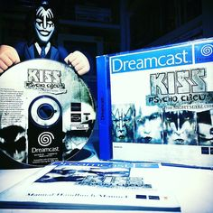 On instagram by bobgetsbored #retrogames #microhobbit (o) http://ift.tt/244K6p6 11 of #RCEa2z -  K is for...... KISS: Psycho Circus: The Nightmare Child for the Sega Dreamcast.  Do you like KISS? Do you like playing Dreamcast? Then bump 'Love Gun' on your stereo while you play Crazy Taxi.  This is a game based on a comic book based on a band based on an insatiable thirst for merchandise revenues. Your honour I rest my case.  #rcea2zk #retrocollective #retrocollectiveeurope #sega #dreamcast…