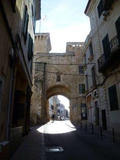 Mahon, Menorca.Arc de Sant Roc