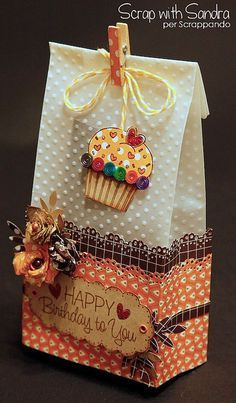ideas birthday wishes creative paper crafts for 2019 Paper Gift Bags, Paper Gifts, Creative Gift Wrapping, Creative Gifts, Pretty Packaging, Gift Packaging, Birthday Wishes, Birthday Gifts, Birthday Bag