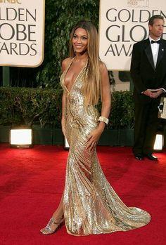 Beyonce in Elie Saab, Golden Globes 2007