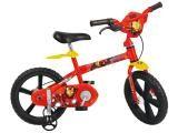 Bicicleta Infantil Bandeirante Homem de Ferro - Aro 14 Freio Tambor