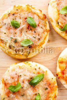 Minipizzas Margherita
