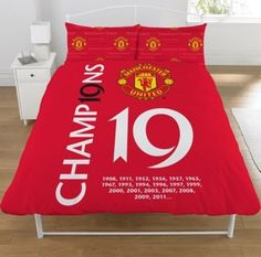 manchester united bedroom