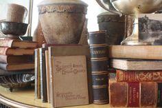 loves me my old books  www.savvycityfarmer.com