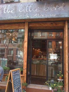 The Little Bird Bakery & Coffeehouse on Avenue B in East Village, New York