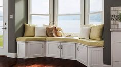 Brilliant Design Ideas for Window Seat | Storage Design Ideas