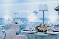 Decoração na cor Tiffany Blue,elegância e delicadeza juntas.