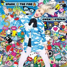 gwen stefani spark the fire cover