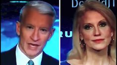 Anderson Cooper States a Fact, Makes Kellyanne Conway Look Like She Migh...