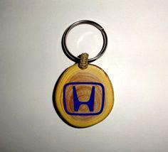 Honda Personalised keyring personalized keychain by NayasArt