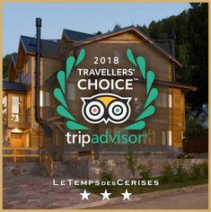 Felices de ser premiados nuevamente con el #TravellersChoice de Tripadvisor! Muchas gracias a todos nuestros huéspedes por escribir sobre su experiencia #letempsdescerises #aparthotel #patagoniaargentina #travellerschoice #tripadvisor