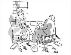 Shoe-Salesman. Bob Mankoff picks his 11 favorite New Yorker cartoons ever