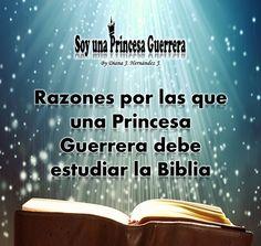 Soy una Princesa Guerrera: Razones por las que una Princesa Guerrera debe estudiar la Biblia