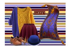 """Alladin: Carpet"" by laurablima-1 ❤ liked on Polyvore featuring Chicwish and Ray-Ban"