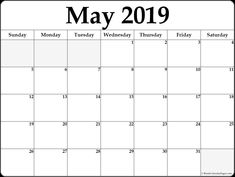 may 2019 calendar printable template site provides calendarmay 2019 blank template