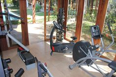 You can do some sports and keep yourself fit in the fitness room of Casa Grande.