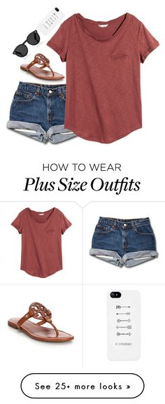 """Comment your GO TO outfit!"" by emmaintn on Polyvore featuring H&M, Tory Burch and Illesteva"