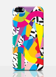 COOL 90s mobile phone case. Available on: iPhone 4, iPhone 5, Samsung s3, Samsung s4. by TheSmallPrintCases, £10.99
