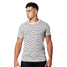 Nice Star Wars - Stormtrooper - t—-shirt....camiseta de Soldado de Asalto en mosaico - de gran calidad, Chunk - blanco crema - S