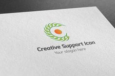 Creative Support Icon Log by BDThemes Ltd on @creativemarket