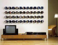 Cd dvd rack by vismara design